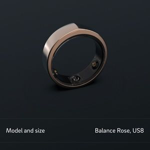 Oura Ring Balance Limited edition Rose gold!!